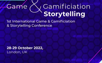 International Game & Gamification & Storytelling Conference / 28-29 October 2022, London